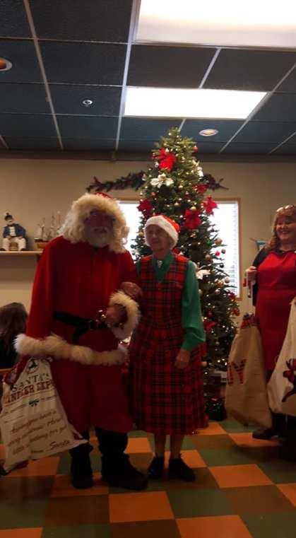 Santa and Dorthy