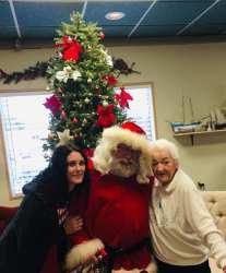 Santa and Senior